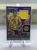Mats Hummels 2020-21 Panini Obsidian Soccer /50 Eruption Borussia Dortmund