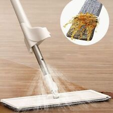 Spray Mop 2 In 1 Free Hand Washing Flat Lazy 360 Rotating With Squeezing Floors