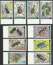 Rwanda Ruanda Scarabees Coleopteres Beetles Kafer Non Denteles Imperfs ** 1978