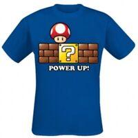 Mushroom Power Up T-Shirt New