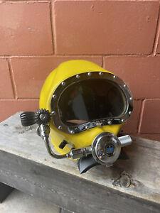 Vintage Commercial Diving Helmet US DIVERS Deep Sea Scuba Maritime Fiberglass