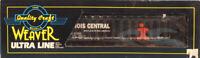 Weaver O Gauge Illinois Central IC #67355 3-Bay / Rail Offset Coal Car #67355U