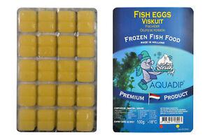 9 x Fish Eggs 100 gram Blister Packs