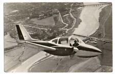 Beagle B.206 communication AIRCRAFT AEROPLANE Hugo Hooftman PHOTO POSTCARD 1971