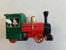 Walt Disney Mickey Mouse Thunder Mountain RR train locomotive