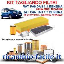 1.2 1200 1242 BENZINA KF1050//so KIT FILTRI TAGLIANDO SOFIMA FIAT PANDA 169