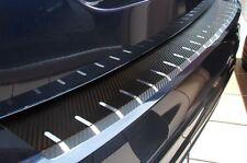 Carbon Chrom Ladekantenschutz für Dacia Duster I Carbonfolie 320µm stark