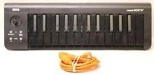 KORG MICROKEY25 25-KEY UNLTRA-COMPACT MIDI KEYBOARD - LIMITED BLACK EDITION