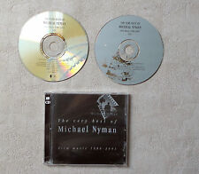 MICHAEL NYMAN THE VERY BEST OF MICHAEL NYMAN - FILM MUSIC 1980-2001 2XCD COMPIL