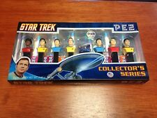 Star Trek Collectors Series Limited Edition Pez Dispenser Set- NEW UNOPENED