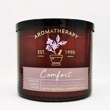 1 Bath & Body Works COMFORT - PATCHOULI VANILLA Large 3-Wick Candle AROMATHERAPY