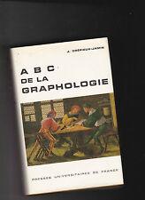 ABC de la Graphologie - PUF - Crépieux - Jamin