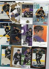 10-jason allison boston bruins los angeles kings card lot nice mix