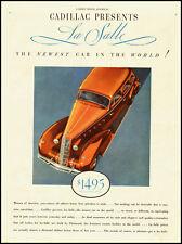1934 vintage automobile ad for Cadillac LaSalle  -021712
