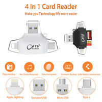 USB 3.0 Multi OTG Micro SD/SDXC TF Card Reader LOT For iPhone Android Type C