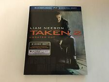 Taken 2 Unrated Cut w/Slipcover Blu-ray
