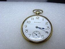 South Bend Antique Pocket Watch 14k Solidarity 5.85 gold 429 Calibre with Chain