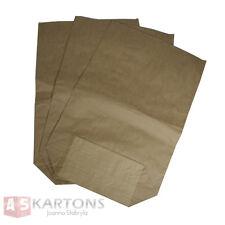 25 St.Papiersäcke Papierbeutel Bio Müllsäcke 70l 550x850+200mm 2-lagig braun !!!