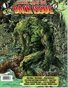 - -> BACK ISSUE #124 ... 2020 .... Horrific Heroes Issue ... NM