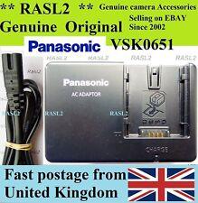 Genuina Original Panasonic Vsk0651 Cargador Nv Gs 120 27 33 35 37 44 140 150 180