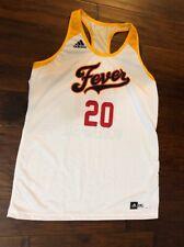 Adidas Women's Indiana Fever WNBA Basketball  Jersey & Shorts Sz. 3XL NEW #20