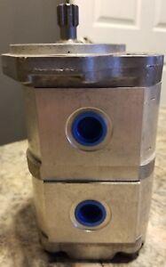 2PF2G250-008-008LR12MRS, Rexroth, Double Hydraulic Gear Pump