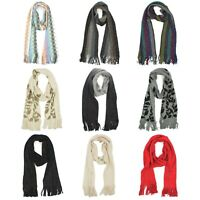 Croft & Barrow Sparkling Scarf with Fringed Ends for Women - 72 inches