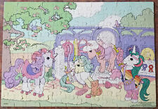 1985 MY LITTLE  PONY 100 pc Puzzle HASBRO MB 4576-3  COMPLETE Peachy's Stable