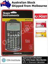 Texas Instruments TI BA II PLUS Financial Calculator - Brand New