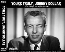 YOURS TRULY, JOHNNY DOLLAR  OLD TIME RADIO - 6 CD-ROM - 721 mp3