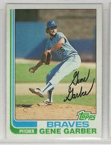 1982 Topps Baseball Atlanta Braves Team Set