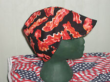 Smell The Bacon: Red's American Made: Welding Hat, Biker, 4 Working Men $7.50