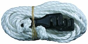 6mm Guy Rope Double Plastic Slide 4 Pack Camping Hiking