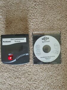 PetSafe RF-1010 Pet Containment System Transmitter Only and Instructional CD