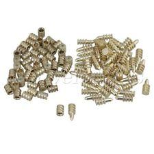 50Pcs Gold Zinc Alloy Table Top Leaf Dowel Aligner Pin Sets Table Top Pins