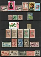 CARIBBEAN MIXTURE COLLECTION, Page of Good/Fine Used Stamps (27 TOTAL)