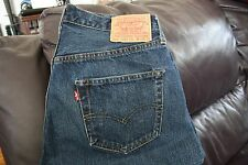 Levi's LVC Jeans 501XX 555 Button Jeans Sz. 34 X 34 Made in San Francisco