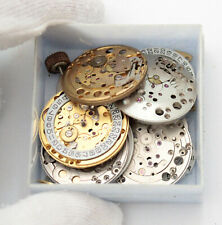 Tissot 781-1 794 2481 2571 Lot with a bunch of Vintage Watch Movements & Parts