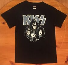 vtg Vintage 2005 Winterland KISS Faces Of Kiss Paint T Shirt Classic Rock Small