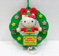 HELLO KITTY-APPENDINO MERRY CHRISTMAS CON MOVIMENTO-SANRIO 1998-MUOVE LE MANI
