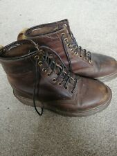 Dr Martens Brown Waxed Leather Boot Size 5