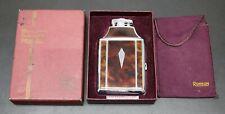 Vintage Ronson Mastercase Lighter & Cigarette Case Art Deco Style With Box