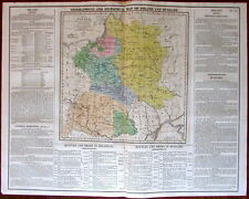 Poland Hungary Lithuania c.1820 M. Carey large historical map battles political