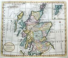 SCOTLAND SHETLAND  BY THOMAS KITCHIN c1792 GENUINE COPPER ENGRAVED ANTIQUE MAP.