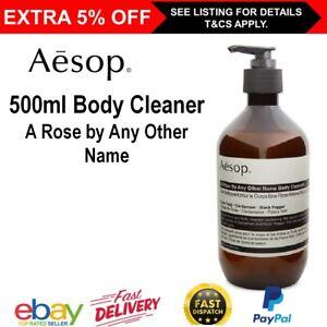 Aesop ROSE Body Cleanser 500ml Liquid Body Wash Soap Skin Care Shower Gel Shower