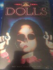 DOLLS DVD - 1987 Horror - Stuart Gordon - BrianYuzna - RARE OOP authentic USA!