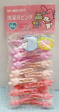 Sanrio My Melody Laundry Clip 14pcs Japan Limit