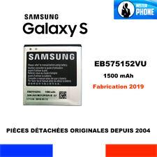 BATTERIE ORIGINE SAMSUNG EB575152VU GALAXY S GT-I9000 GT-I9001 ORIGINAL BATTERY