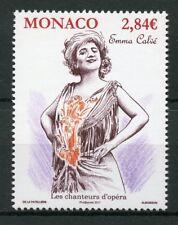 Monaco 2017 MNH Emma Calve Opera Singers 1v Set Music Stamps