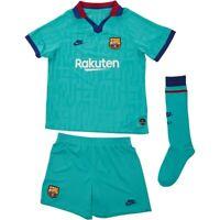 Nike - FC Barcelona 2019/20 Junior 3rd Kit - Size LB - Age 7-8 years - Full Kit